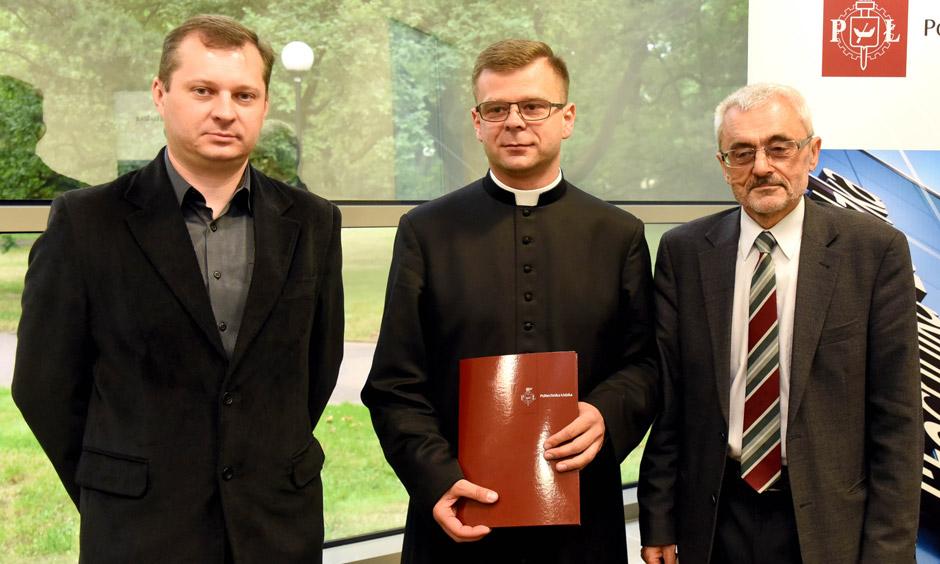 Podpisanie umowy zPolitechniką Łódzką