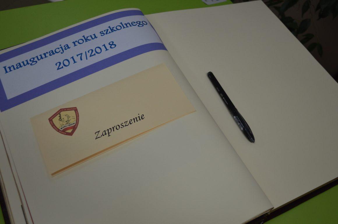 Uroczysta inauguracja roku szkolnego 2017/2018