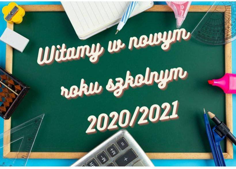 Informacja orozpoczęciu roku szkolnego 2020/2021